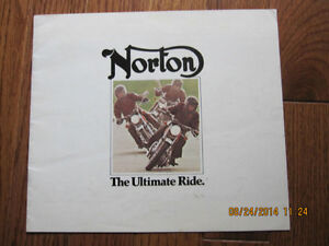 1975 Norton Spec Pamphlet