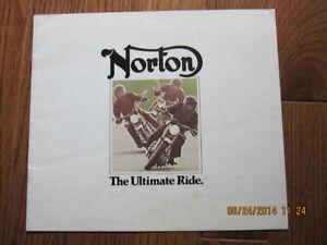 1975 Norton Spec Pamphlet London Ontario image 1