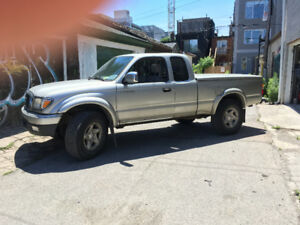 2001 toyota tacoma, parting out