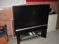 50'' DLP Samsung TV. with stand