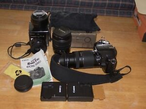 CanonT1i 15.imp 3lenses flash etc 1200 OBROffer