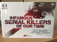 Infamous Serial Killers Of Our Time (6 DVD Box Set)