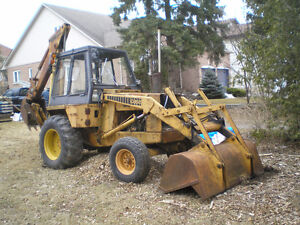 CASE CONSTRUCTION KING TRACTOR BACKHOE