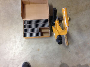 Hardwood nailer and box of staples