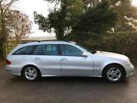 2006 56 Mercedes E220 CDI Auto CDI Avantgarde Diesel Esate Silver