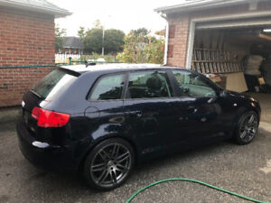 Audi A3 sportback 2006 low km, perfect condition. Price is FIRM