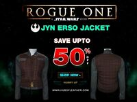 Jyn Erso Rogue One Star Wars Jacket and Waist