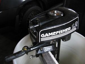 1.2  Gamefisher  Outboard  motor