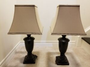 Set of Table Lamps from Costco