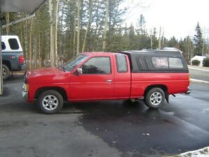 1997 Nissan Other Pickups Pickup Truck With Canopy