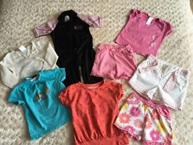 Lovely summer bundle of girls clothes Age 18-24 months