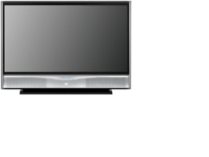 """56"""" JVC Projection TV with remote"""