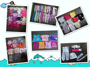 75 pcs  assorted Baby girl's clothes