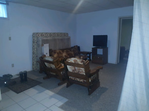 Sectioned off living room  for rent cheap