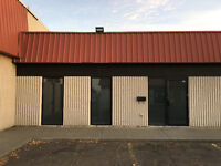 1650 sq. ft. Office and Industrial Bay on 99 Street for Sublease