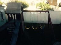 Swing set - balancoire  Ridgeview Club house