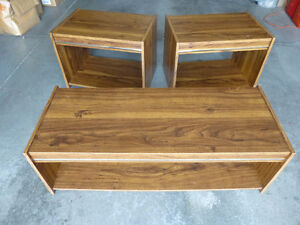 Coffee Table / End Tables - 3 Piece set Kitchener / Waterloo Kitchener Area image 1