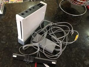 Old but all working white Wii with no games or controllers