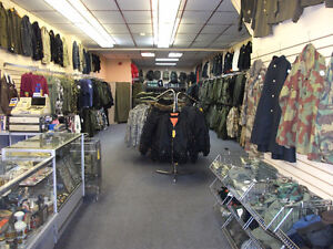Military Surplus and Militaria Collectibles