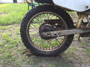 WANTED TO BUY......1998 HONDA XR100R 16 INCH REAR WHEEL COMPLETE
