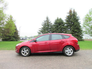 2013 Ford Focus SE- Hatchback. ONE OWNER SINCE NEW!! ONLY $8950