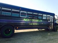 Charter Party Bus Has Discount Day Rates!