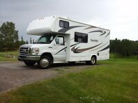 2009 motorhome clssC 24ft great condition withextended warranty