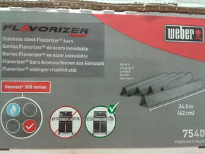 Aftermarket Weber Replacement Stainless Steel Flavorizer Bars London Ontario image 4