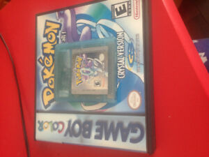 Pokemon Crystal Gameboy Colour