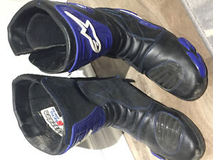 Mens motorycle racing boots size euro 44 (10.5 approx)