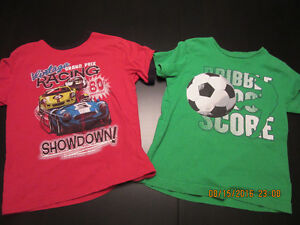 2 shirts for boys - excellent condition $6 for both