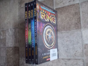 NEW!  Infinity Ring #1-4 (box set)