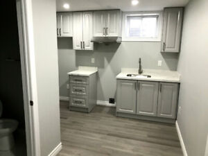 Brand new one bedroom basement unit in Scarborough for rent.
