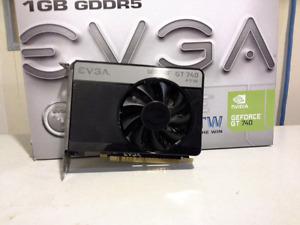 Nvidia GT 740 FTW  1 GB GDDR5 (evga)