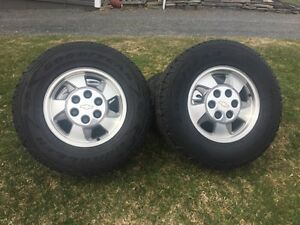 Chev wheels and light truck tires