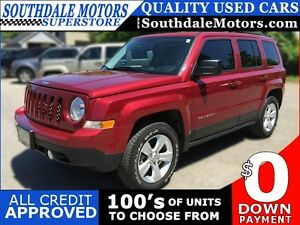 2014 JEEP PATRIOT 4X4 SPORT * LOW KM * LIKE NEW