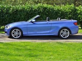 2016 BMW 2 SERIES 218D 2.0 M SPORT Manual Convertible