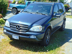 2003 Mercedes-Benz M-Class 350 SUV, Crossover