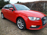 AudiA3 1.6TDISE Sportback 105ps 2013 6speed manual popup screen climate control