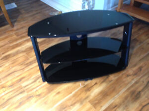 Glass TV Stand and Entertainment Unit