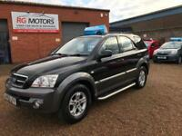 2005(55) Kia Sorento 2.5 CRDi XE Black 4-Wheel Drive, **ANY PX WELCOME**