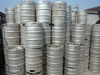 FREE BEER BARRELS. 2 large 1 small