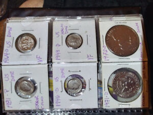 Canadian and world Coins...lots of other coins for sale too
