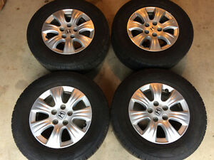 Goodyear Assurance TripleTred All-Season on Honda alloy rims