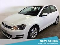 2013 VOLKSWAGEN GOLF 1.6 TDI 105 SE ZERO Tax Bluetooth ADC Cruise DAB