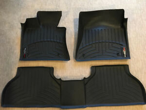 WeatherTech Floor Liner Mats 1st & 2nd Row for BMW X6 or X5