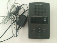 Répondeur Sony TAM100 Gray Answering Machine