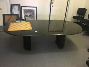 BEAUTIFUL and LARGE! Grey Conference Desk FOR SALE! $300
