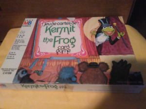 1980 MUPPETS KERMIT THE FROG CARD GAME