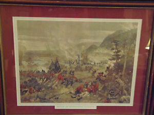 Collectible War of 1812 Historical Battle Prints Kelly & Curzon London Ontario image 2